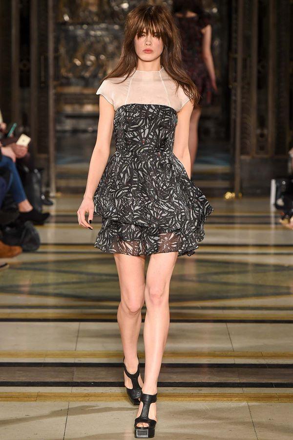 Коктейльные платья осень-зима 2015-2016  Felder Felder