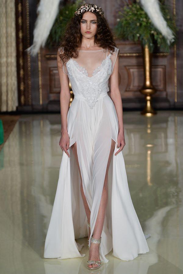 Свадебные платья в греческом стиле 2015-2016 Galia Lahav