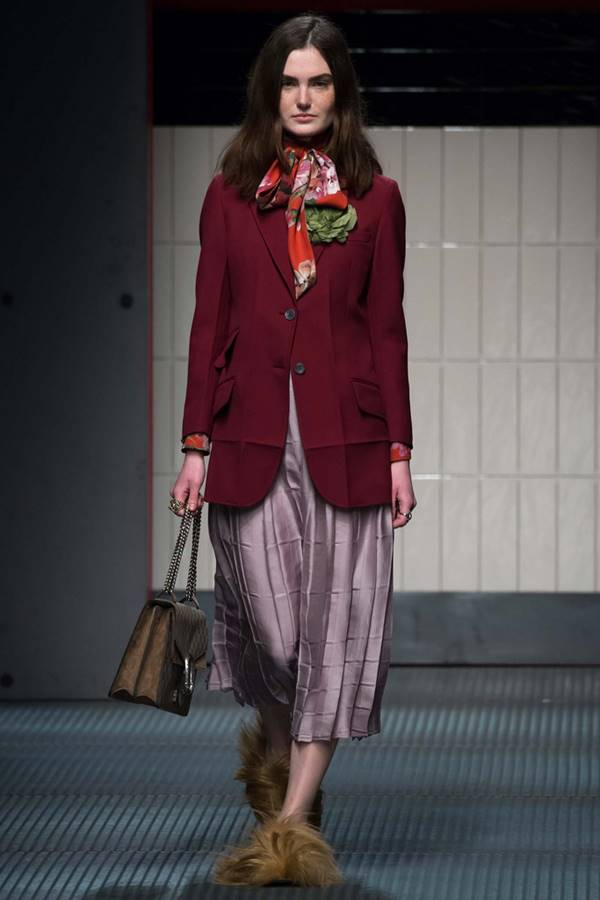 Жакеты и пиджаки осень-зима 2015-2016 Gucci