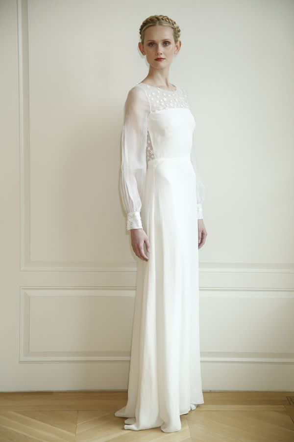 Свадебные платья с длинным рукавом 2015-2016 Honor for Stone Fox