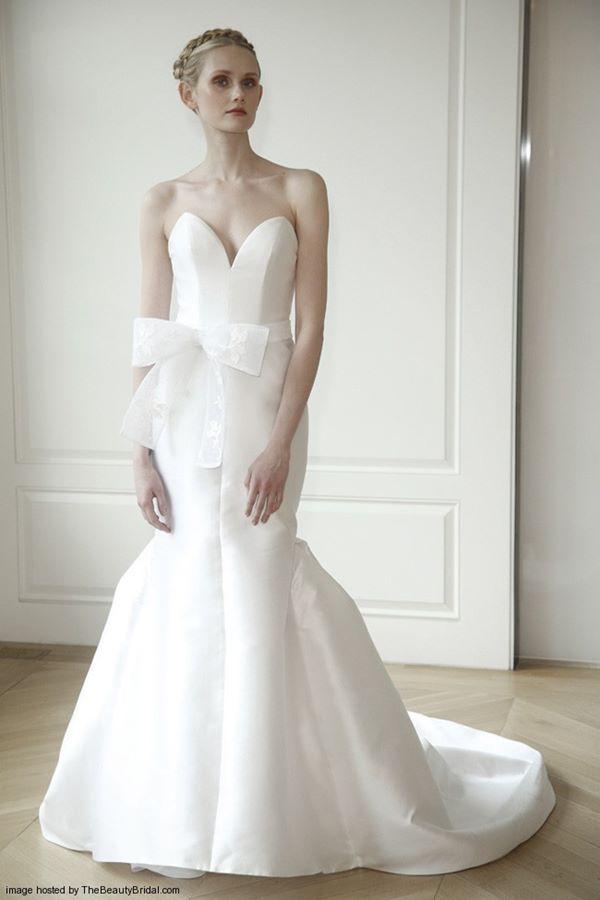 Свадебные платья бюстье 2015-2016  Honor for Stone Fox