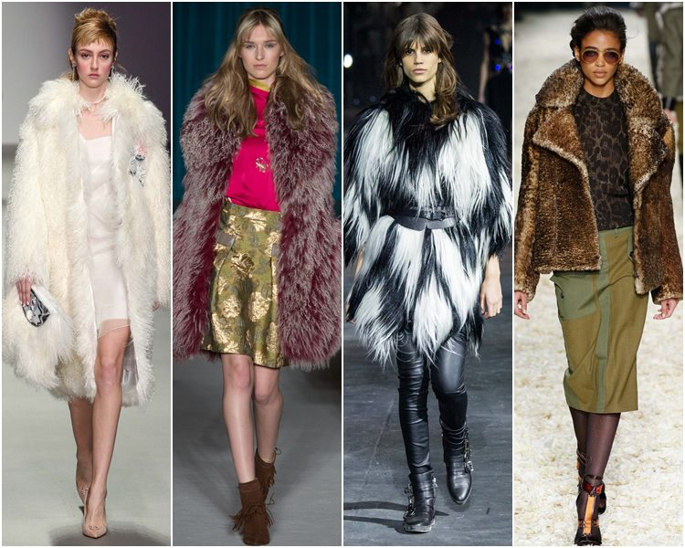 Мода осень-зима 2015-2016: искусственный мех