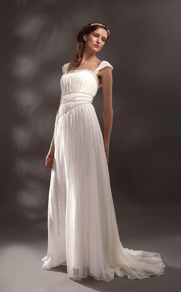 Свадебные платья в греческом стиле 2015-2016
