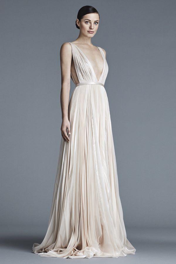 Свадебные платья в греческом стиле 2015-2016 J.Mendel