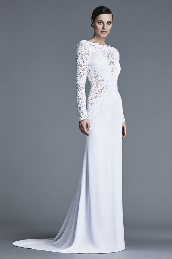 Кружевные свадебные платья 2015-2016 J.Mendel