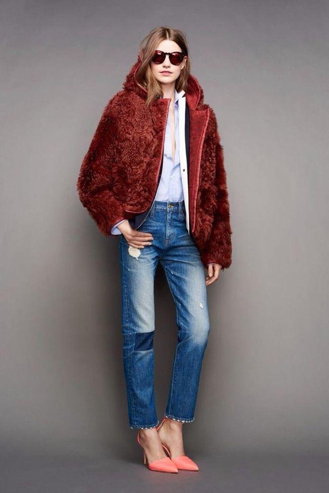 Модные джинсы осень-зима 2015-2016: J. Crew
