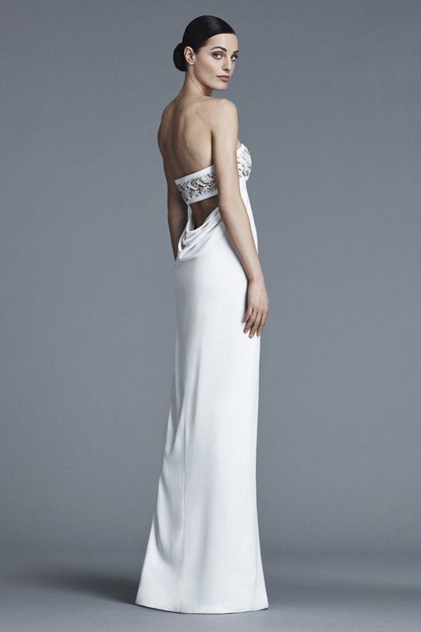 Свадебные платья с кристаллами и бусинами 2015-2016 J. Mendel