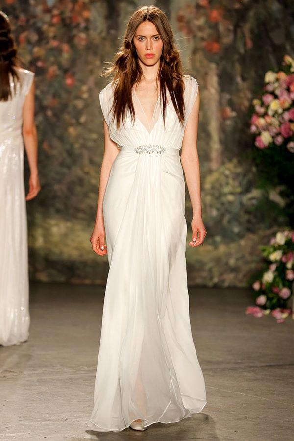 Свадебные платья в греческом стиле 2015-2016 Jenny Packham