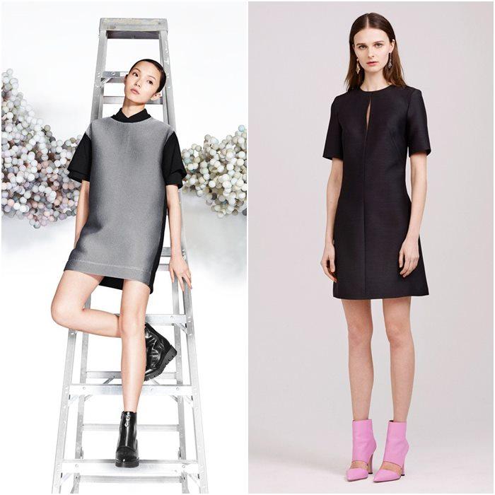 Короткие мини-платья осень-зима 2015-2016  (1)