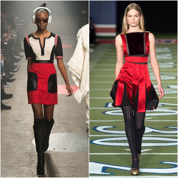Короткие мини-платья осень-зима 2015-2016  (13)