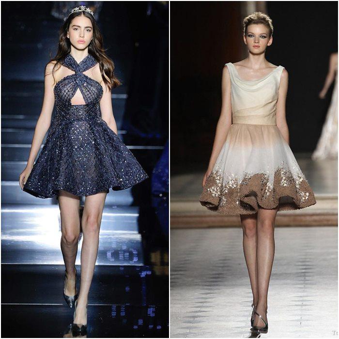 Короткие мини-платья осень-зима 2015-2016  (14)