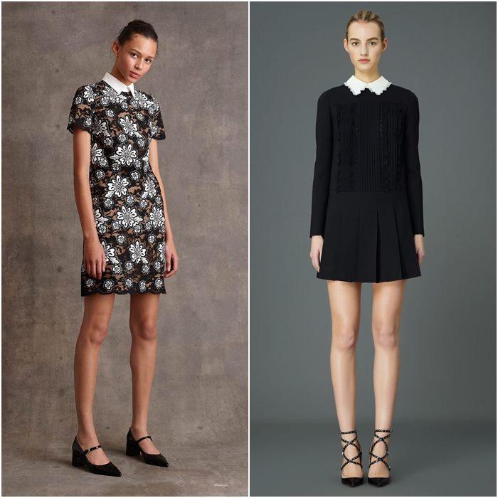 Короткие мини-платья осень-зима 2015-2016  (19)