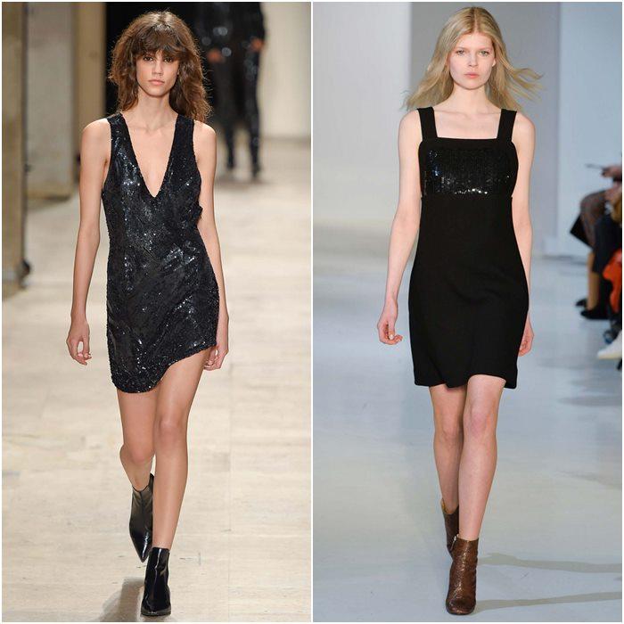 Короткие мини-платья осень-зима 2015-2016  (5)