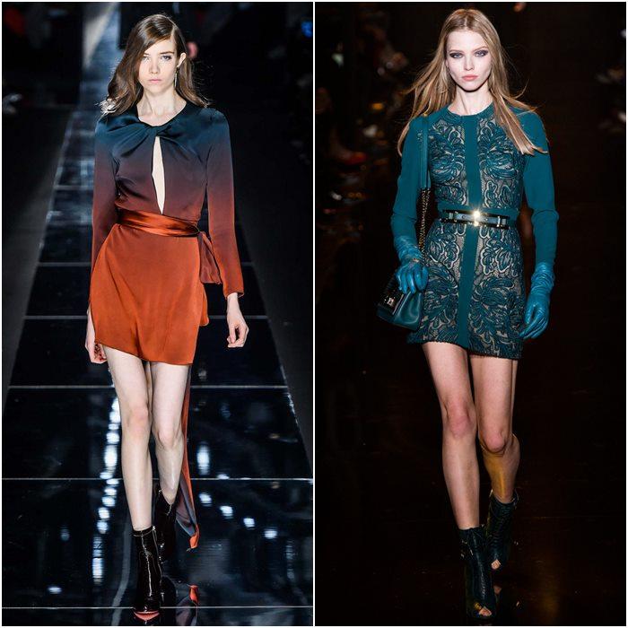 Короткие мини-платья осень-зима 2015-2016  (6)
