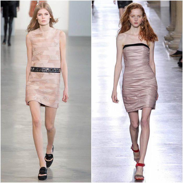 Короткие мини-платья осень-зима 2015-2016  (7)