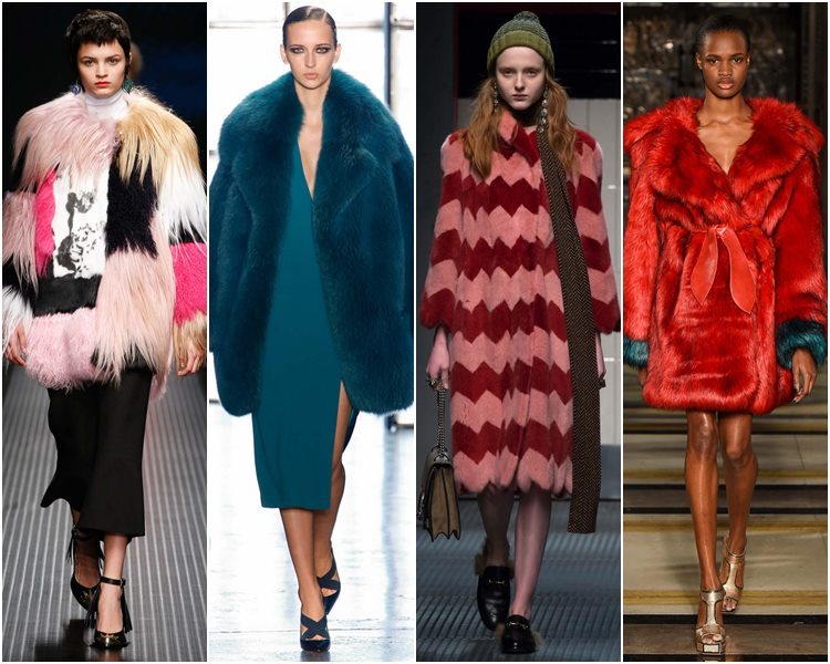 Мода осень-зима 2015-2016: крашеный мех