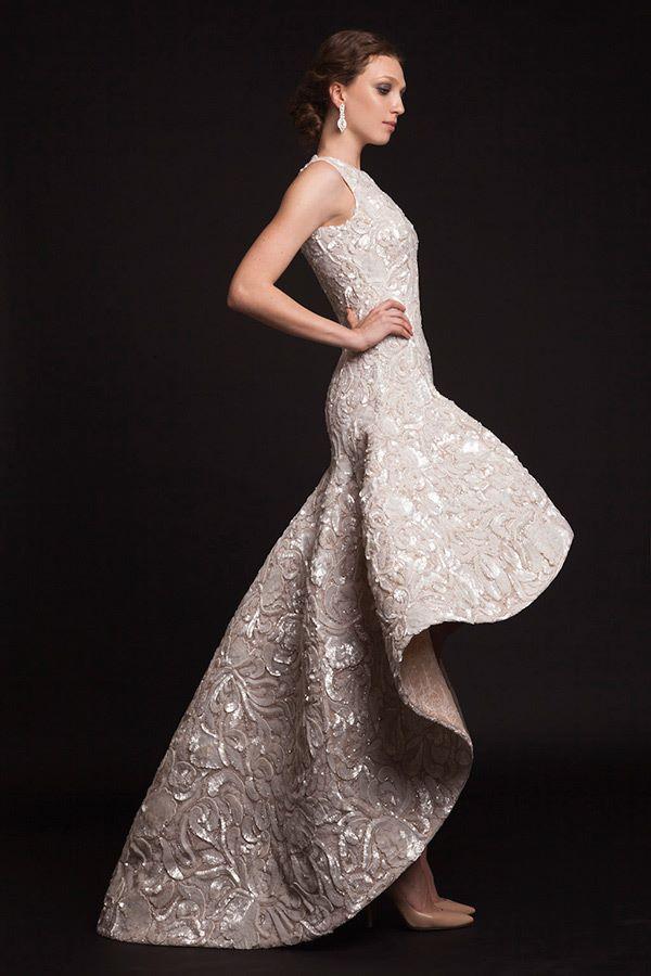 Свадебные платья хай-лоу 2015-2016 Krikor Jabotian