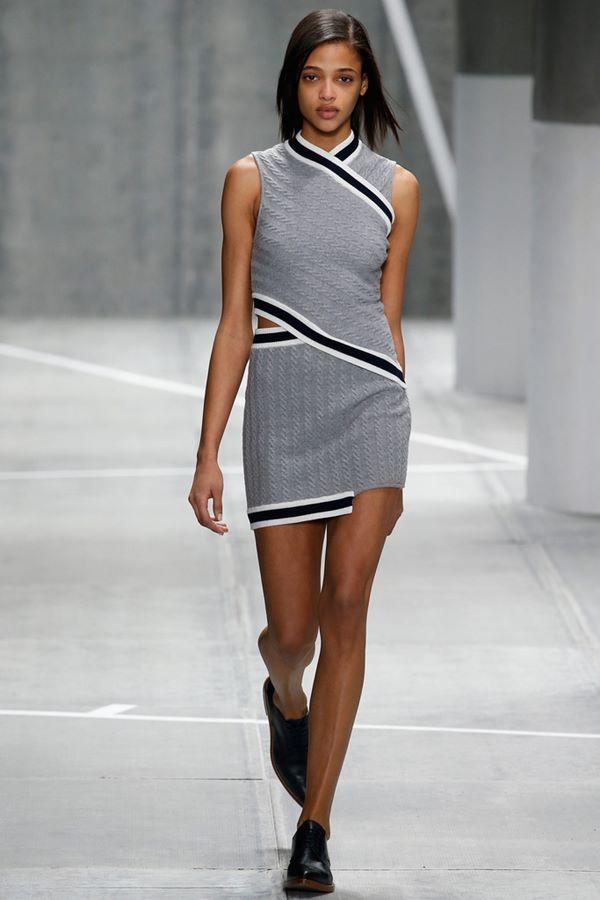Облегающие платья осень-зима 2015-2016  Lacoste
