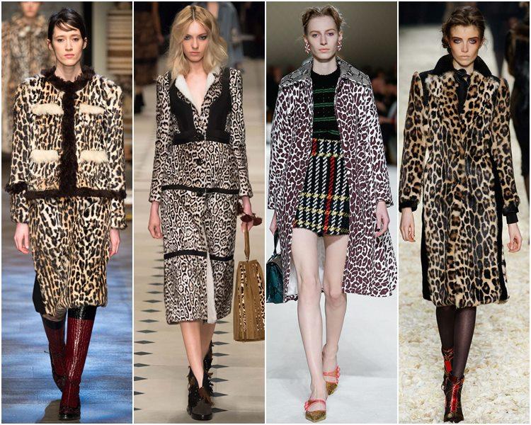 Мода осень-зима 2015-2016: леопардовый принт