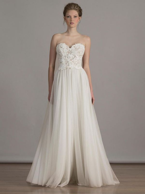 Свадебные платья А-силуэта 2015-2016  Liancarlo