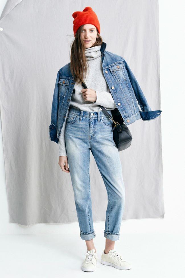 Модные джинсы осень-зима 2015-2016: Madewell