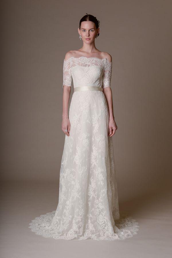 Кружевные свадебные платья 2015-2016 Marchesa