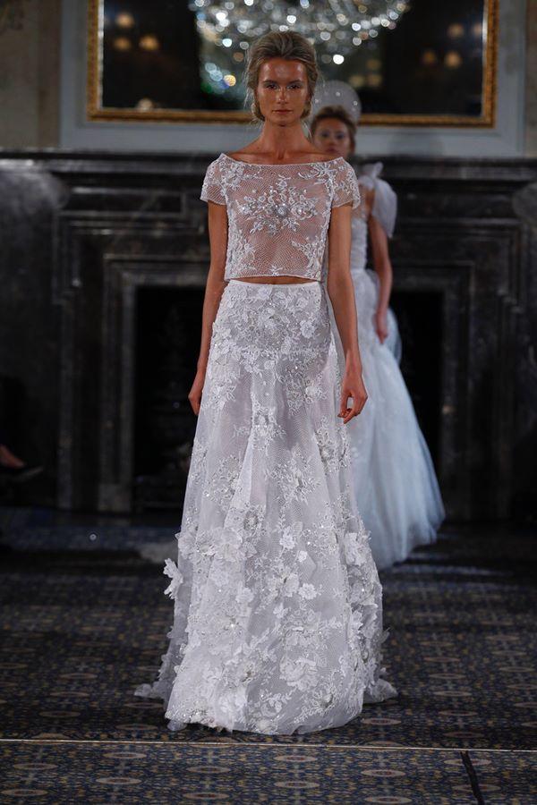 Свадебные платья с кристаллами и бусинами 2015-2016 Mira Zwillinger