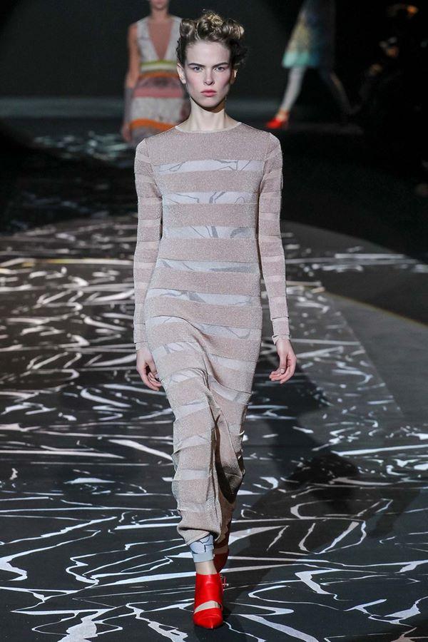 Облегающие платья осень-зима 2015-2016 Missoni