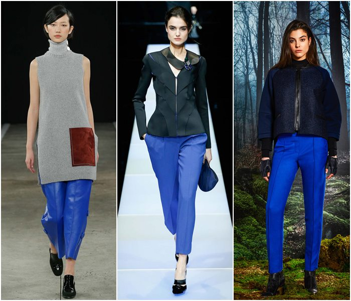 Мода Зима 2015 Брюки