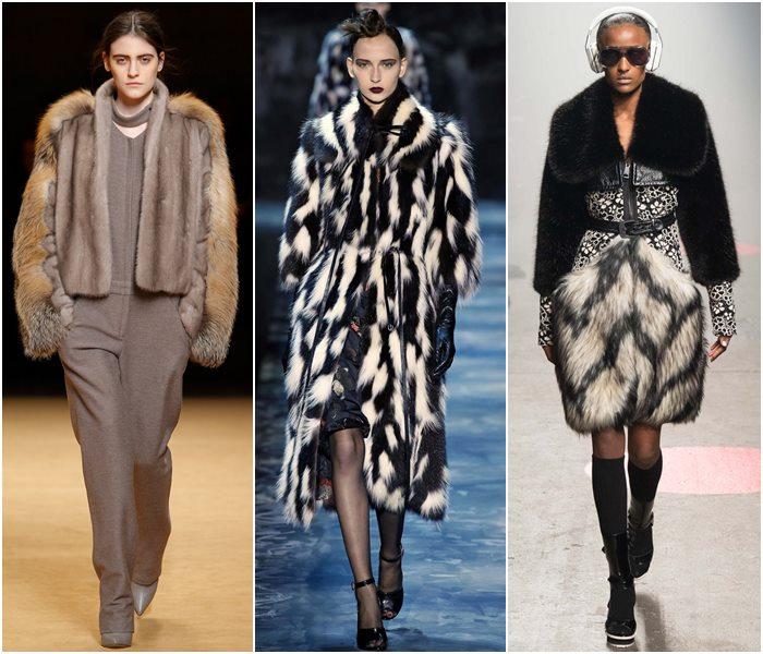 Модные шубы осень-зима 2015-2016 фото новинок
