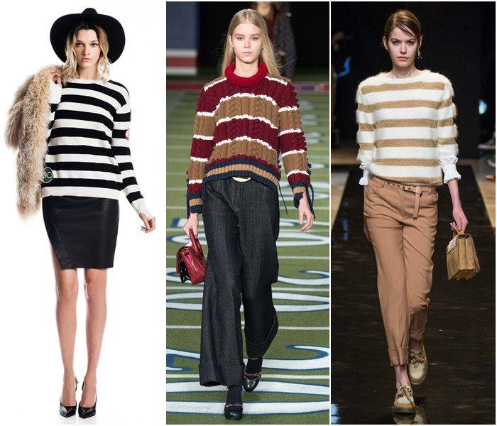 Модные свитера осень-зима 2015-2016 фото  (1)