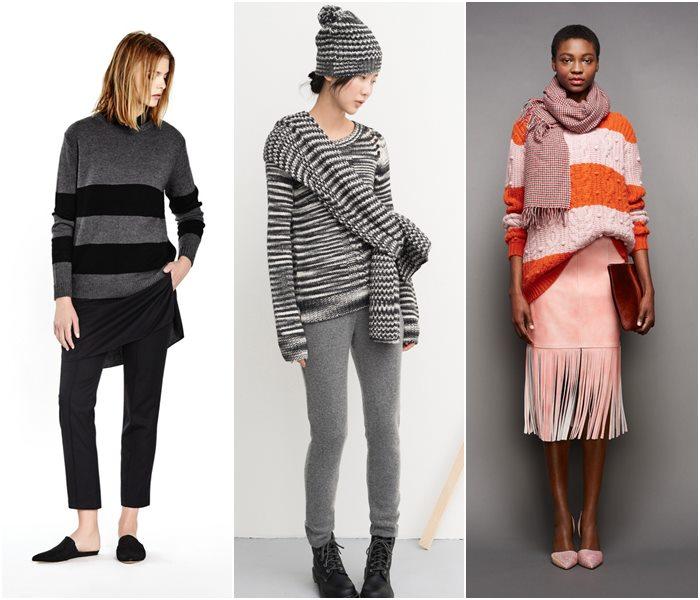 Модные свитера осень-зима 2015-2016 фото  (2)
