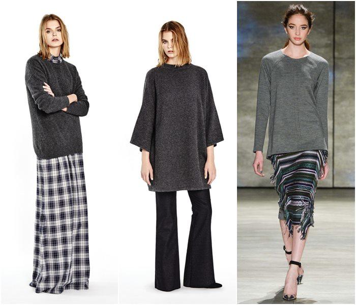 Модные свитера осень-зима 2015-2016 фото  (23)