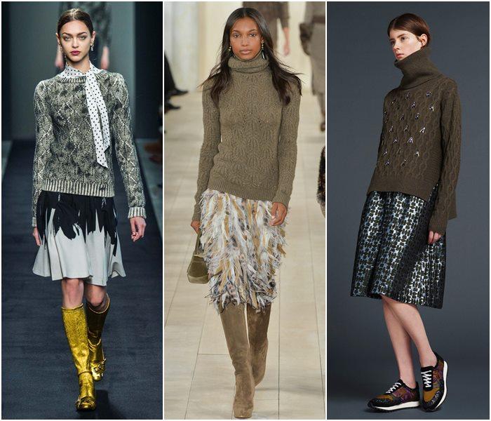 Модные свитера осень-зима 2015-2016 фото  (24)
