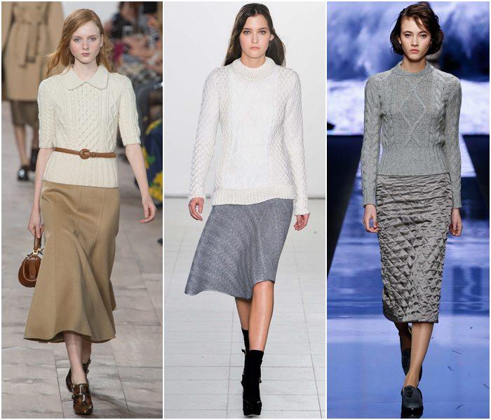 Модные свитера осень-зима 2015-2016 фото  (4)