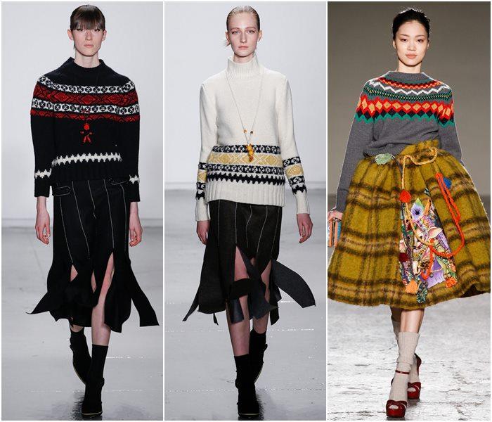 Модные свитера осень-зима 2015-2016 фото  (6)