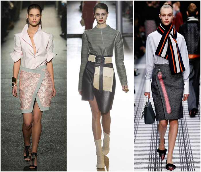 Модные юбки осень-зима 2015-2016  (1)