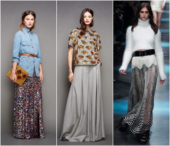 Модные юбки осень-зима 2015-2016  (10)