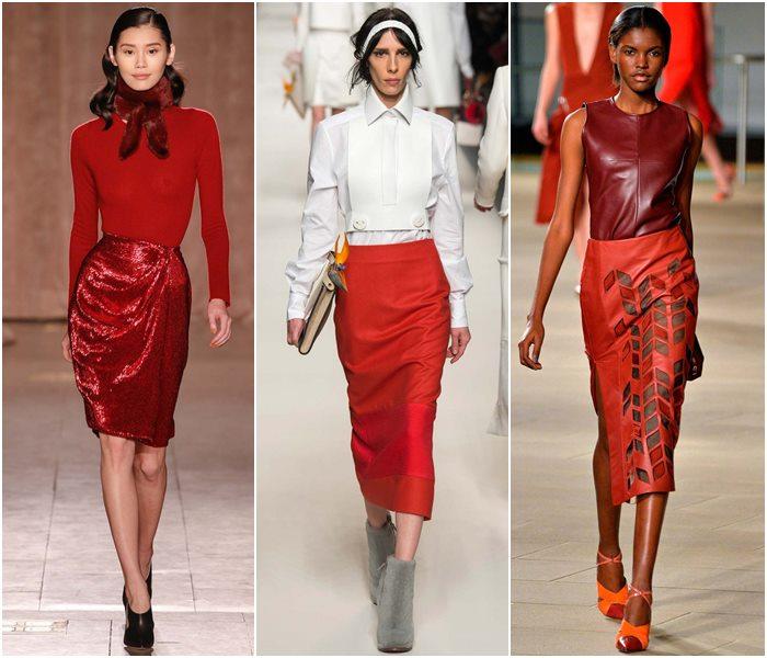 Модные юбки осень-зима 2015-2016  (13)