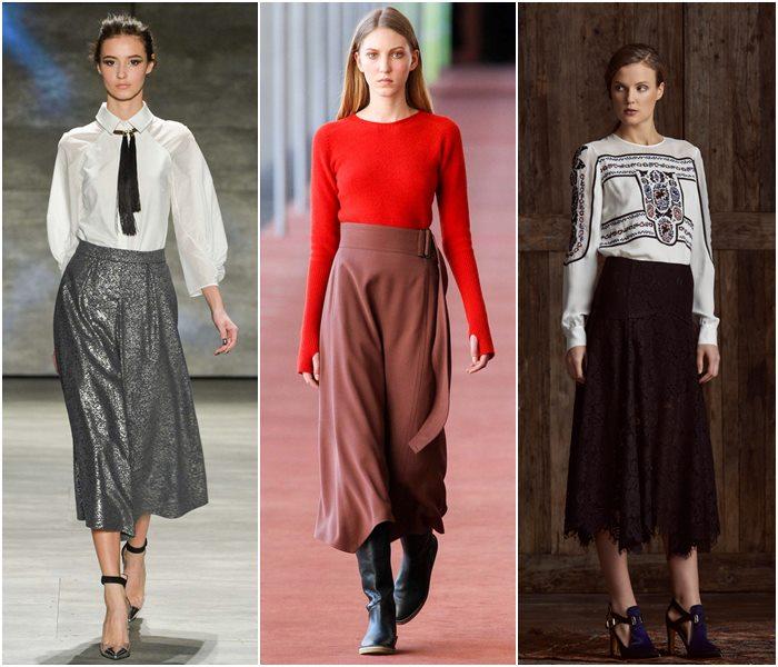 Модные юбки осень-зима 2015-2016  (15)