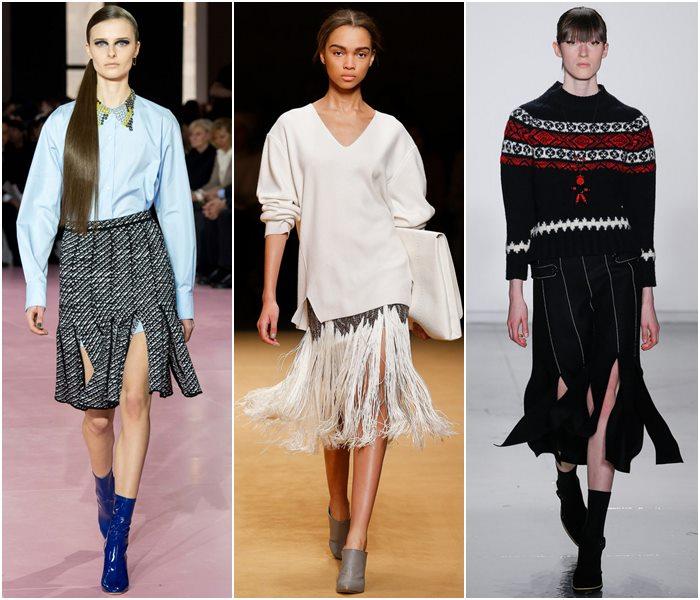 Модные юбки осень-зима 2015-2016  (18)