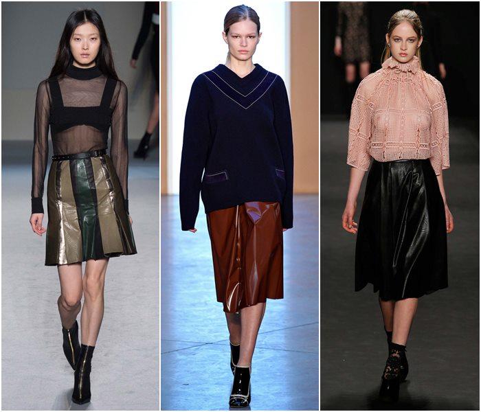 Модные Юбки Зима Осень 2015