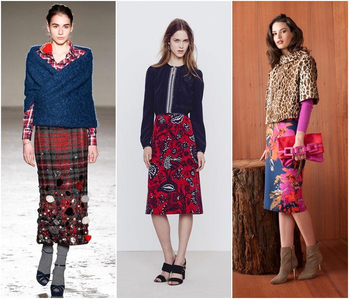 Модные юбки осень-зима 2015-2016  (23)