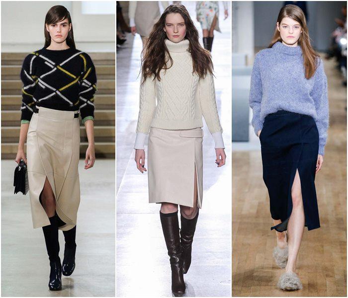 Модные юбки осень-зима 2015-2016  (25)
