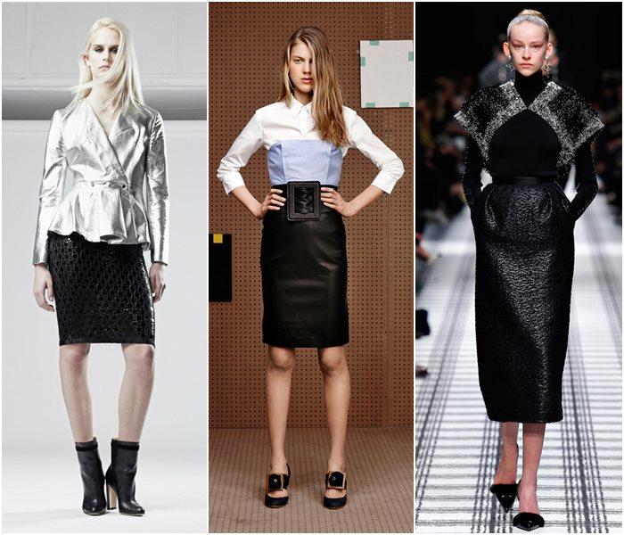 Модные юбки осень-зима 2015-2016  (26)