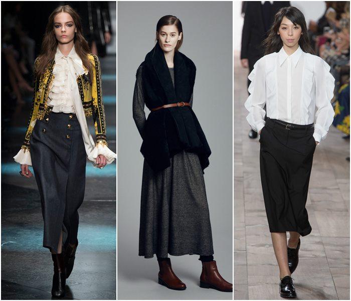 Модные юбки осень-зима 2015-2016  (28)