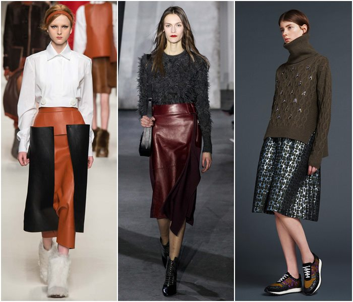 Модные юбки осень-зима 2015-2016  (30)