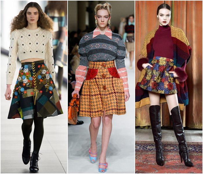 Модные юбки осень-зима 2015-2016  (8)