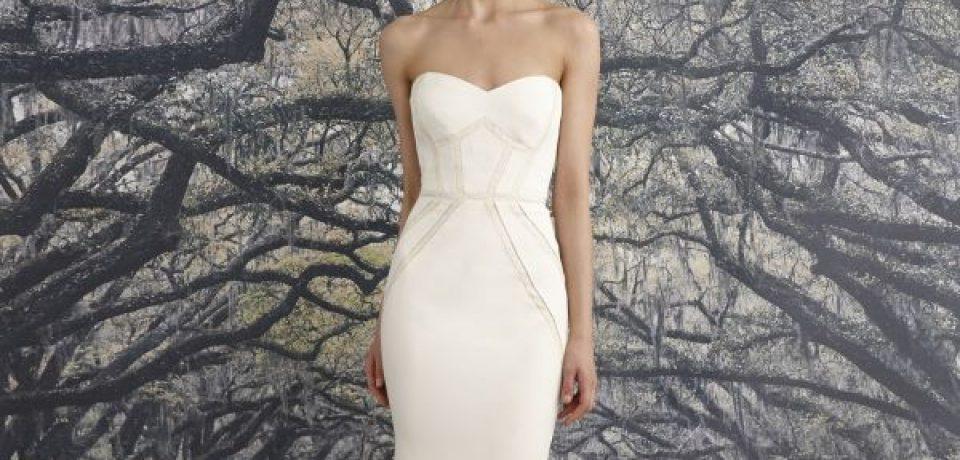 Свадебные платья бюстье 2015-2016 (20 фото)