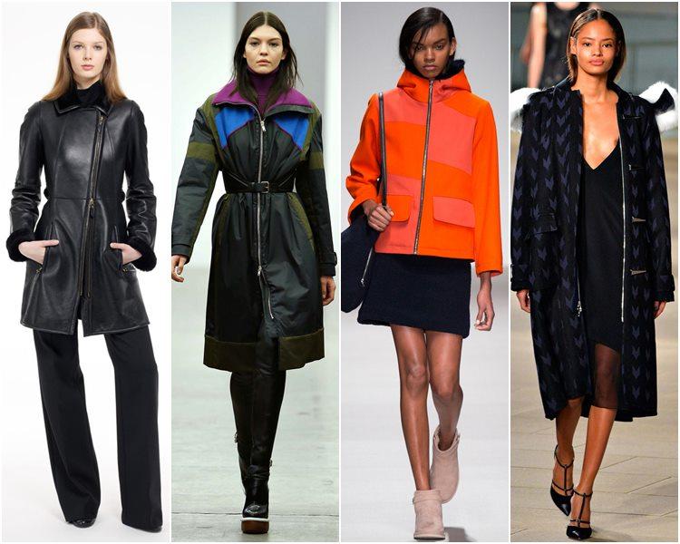 Мода осень-зима 2015-2016: одежда на молнии